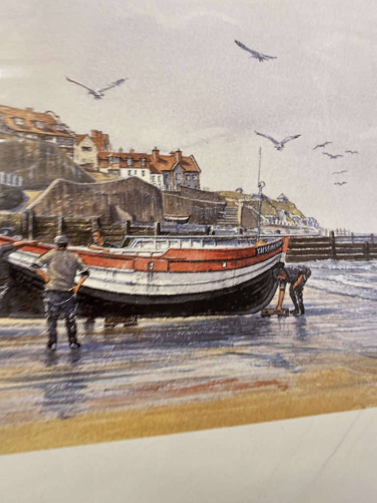 Mick Bensley Signed Limited Edition Print. - Image 6 of 6