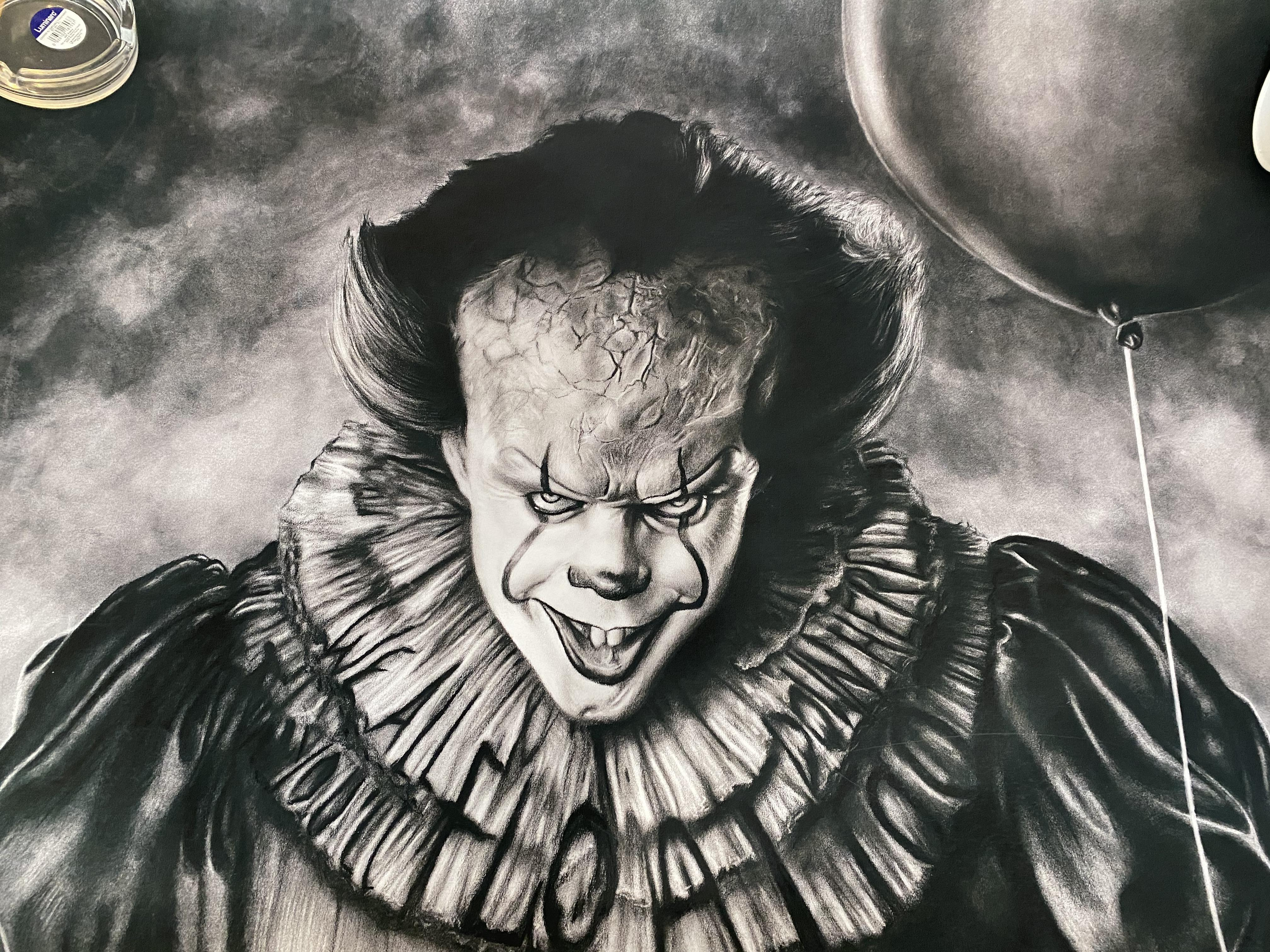 JonArtOn Pennywise Poster IT. Cost £70