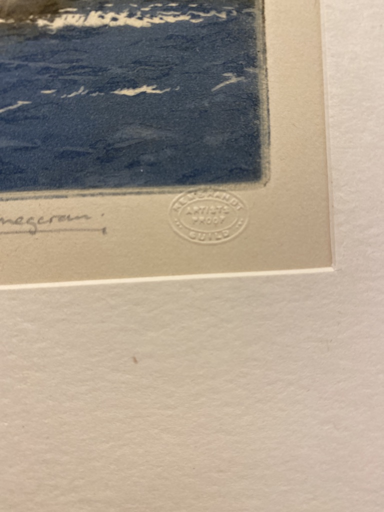 The Wool Clipper Signed By Winston Megoran Artist Proof - Image 2 of 8