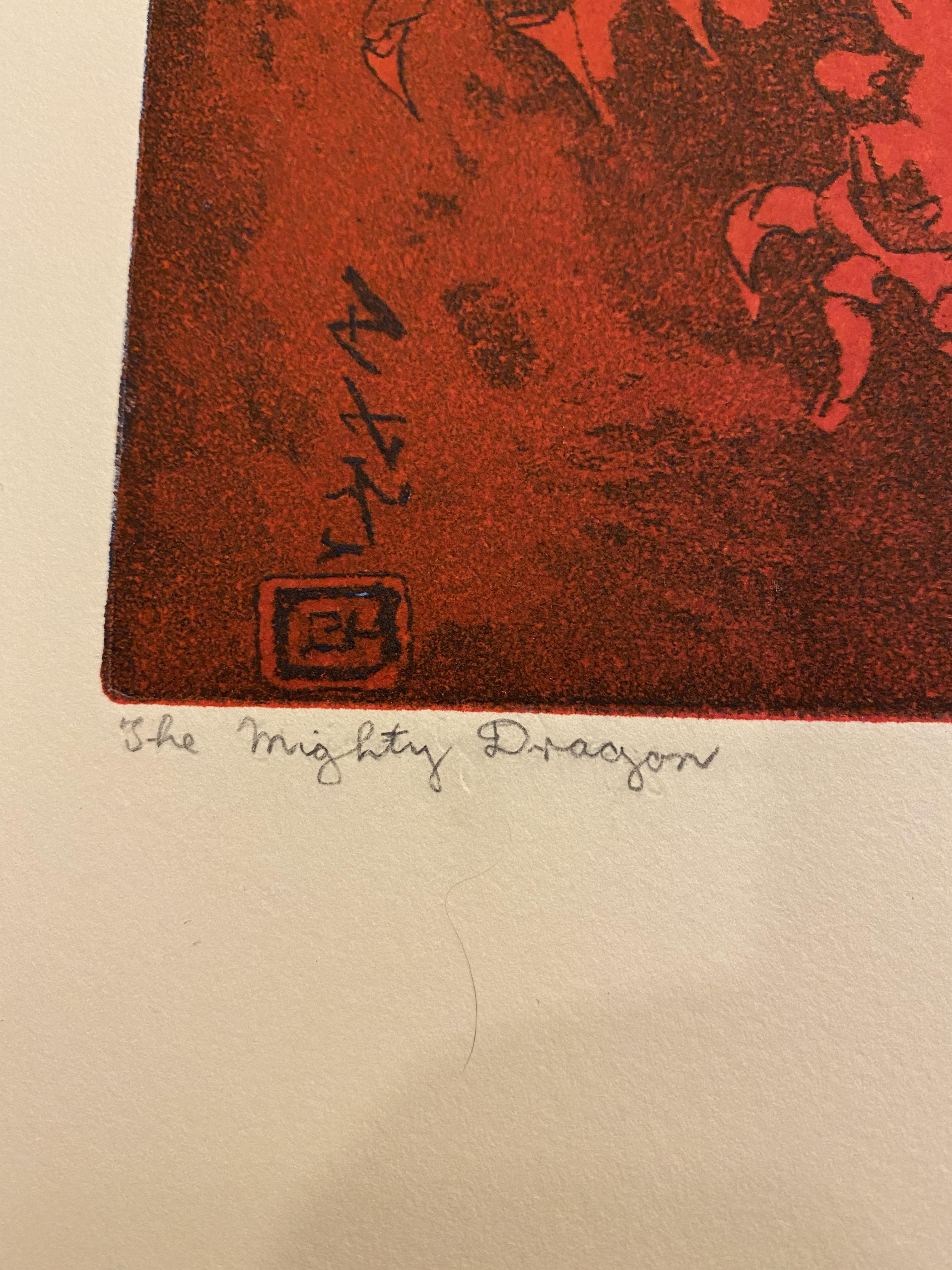 Samuel Robin Spark, The Mighty Dragon Limited Edition Print - Image 4 of 5