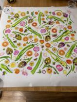 Amber Locke Market Fruit And Veg Limited Edition Print