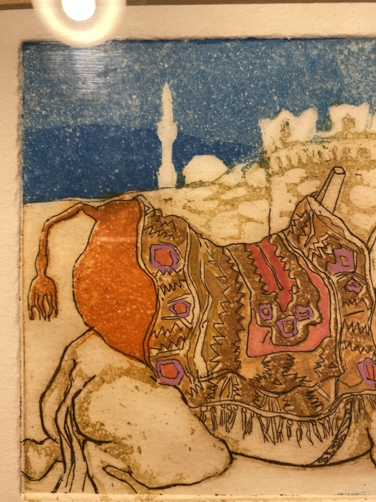 Bodrum Camel By Liz Sheppard Limited Edition 1989 - Image 5 of 6