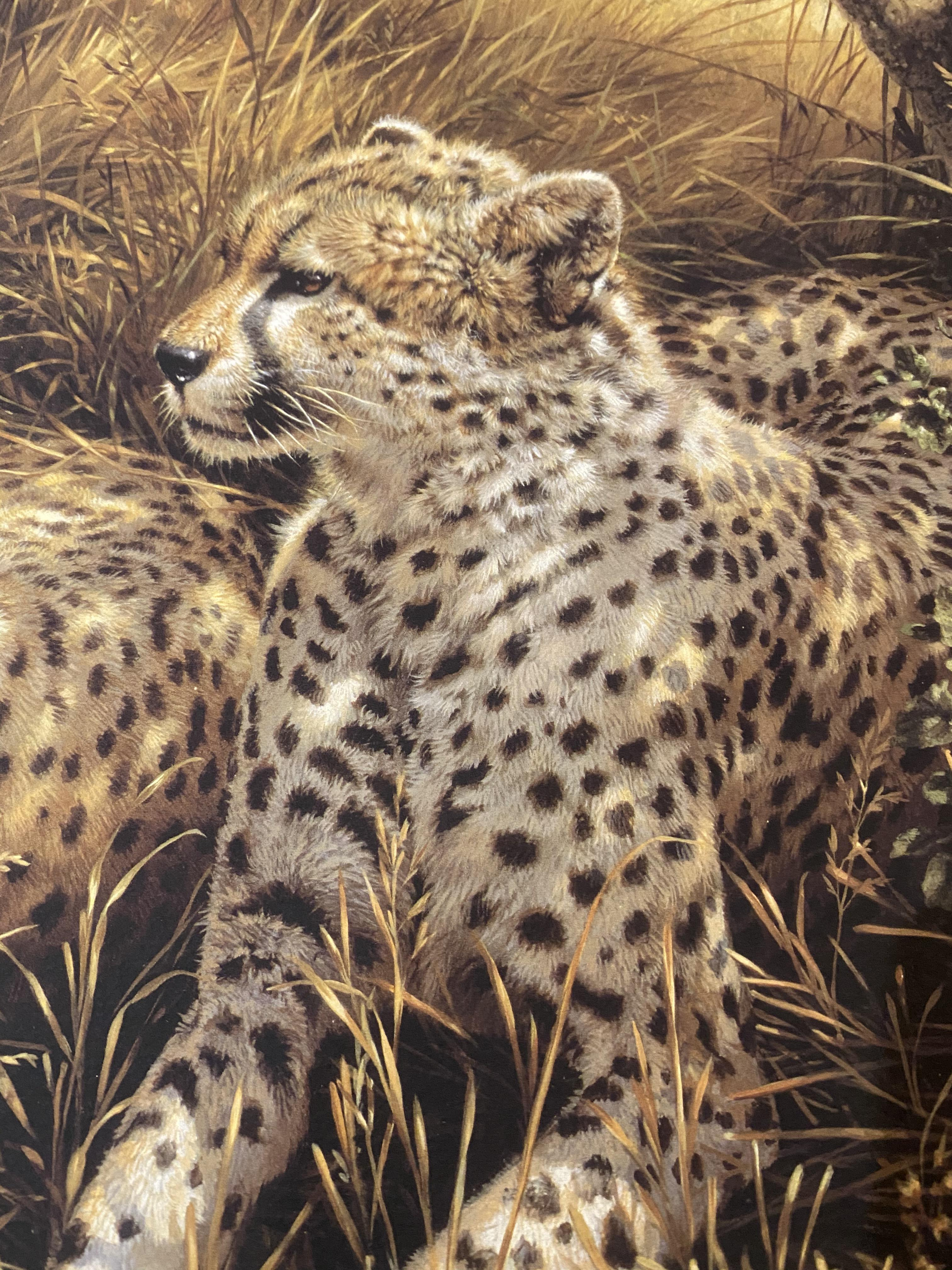 Michael Jackson Signed Limited Edition Print 'Cheetahs' With C.O.A. - Image 6 of 7