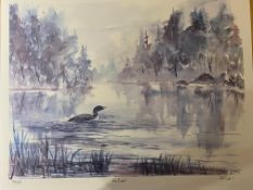 Bruce Dall, The Loon Limited Edition Print