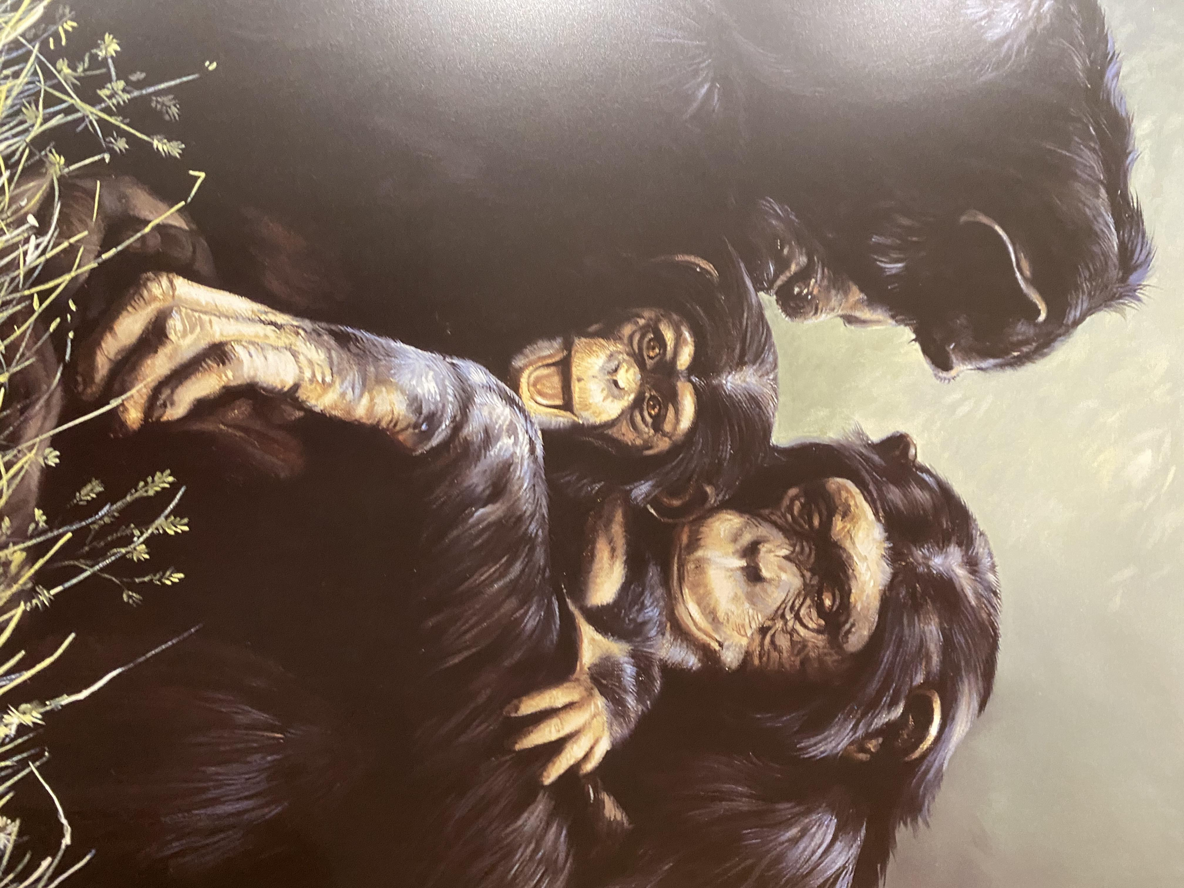 """Spencer Hodge Large Limited edition Print """"Family Portrait' . - Image 8 of 9"""