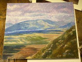 Sylvia Molloy Original On Canvas