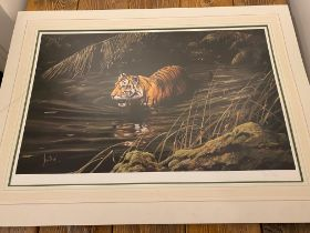Cooling Off By Spencer Hodge, Large Limited Edition Print