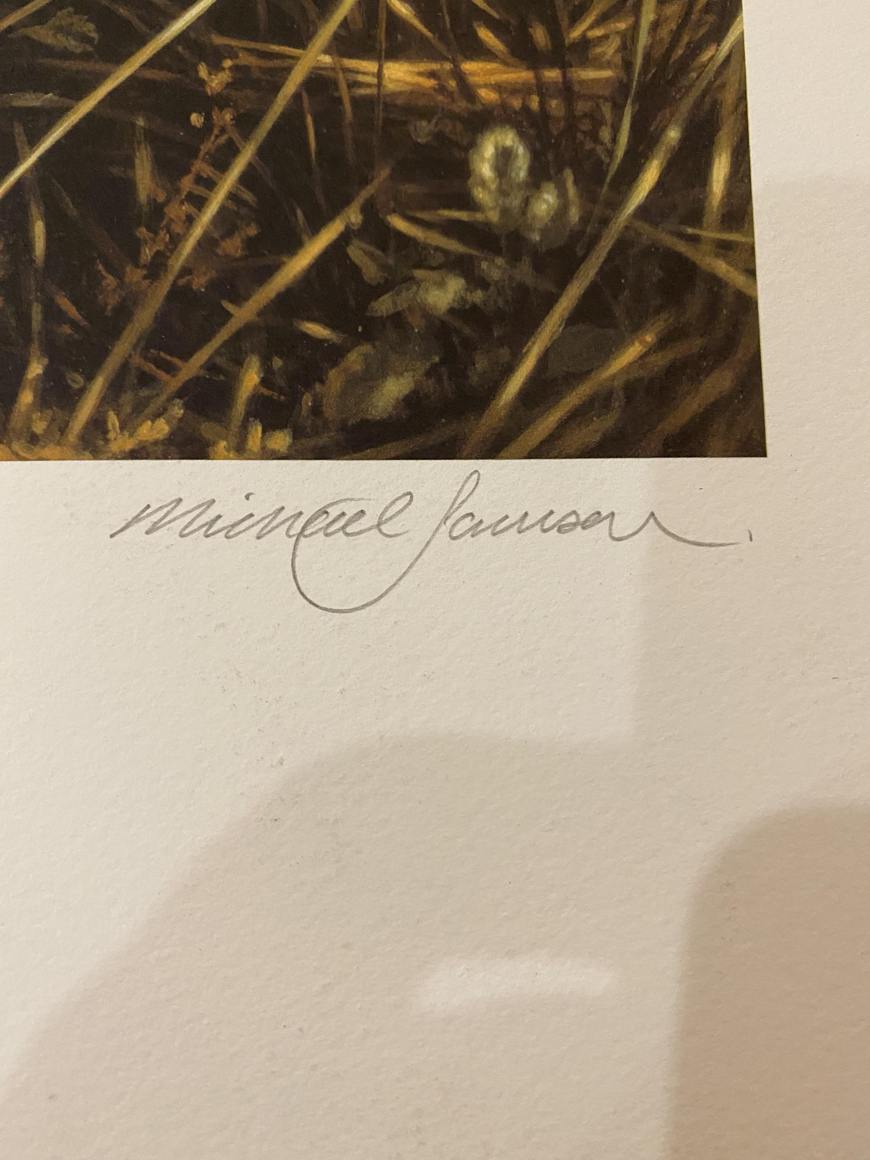 Michael Jackson Signed Limited Edition Print 'Cheetahs' With C.O.A. - Image 3 of 7