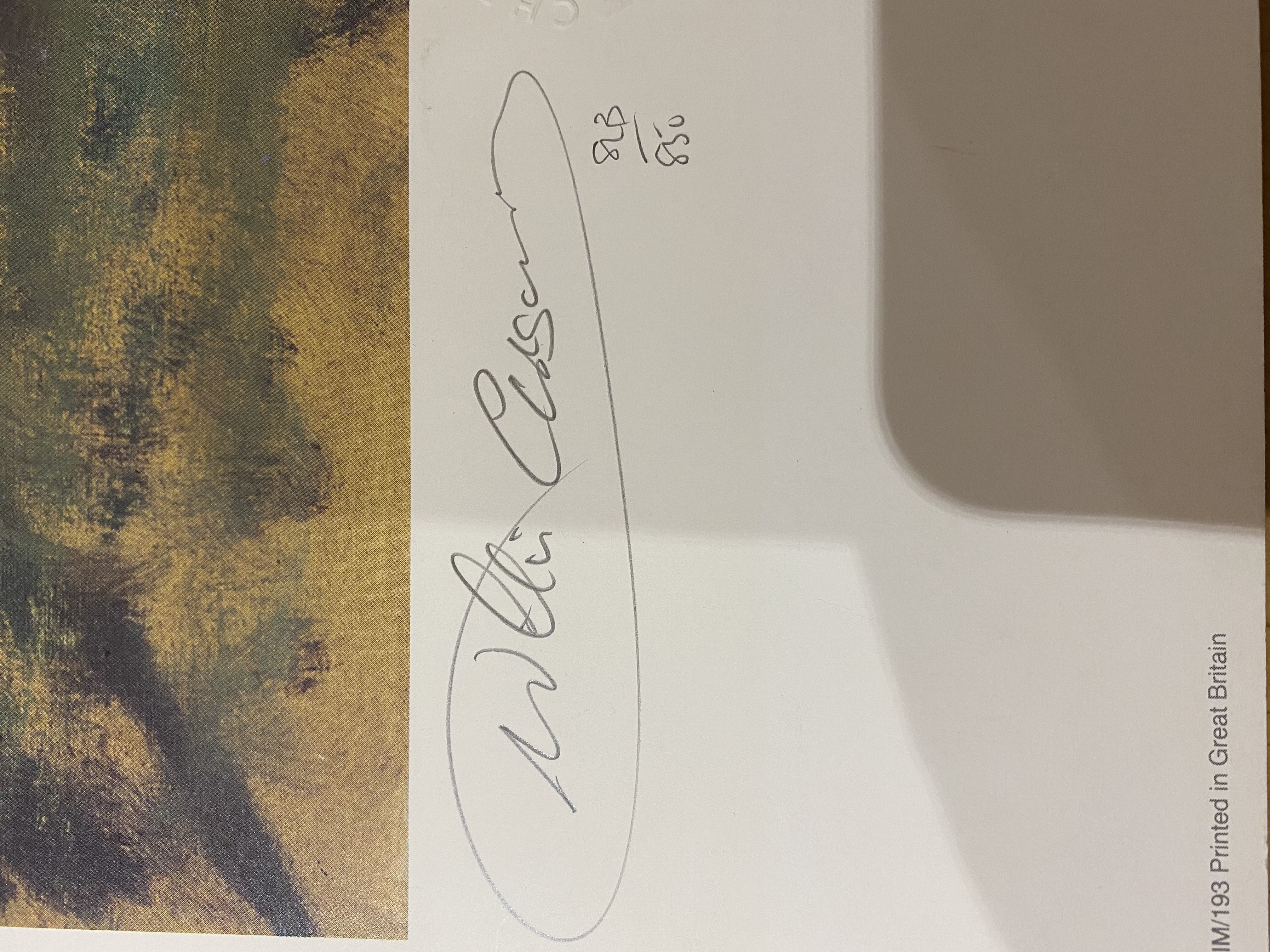 Claire Eva burton & Willie Carson Signed Limited Edition Print of Nashwan - Image 11 of 11