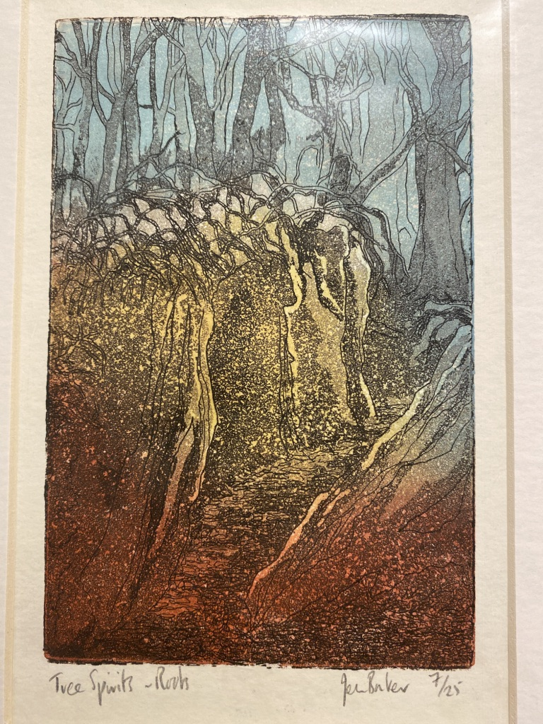 Three Tree Spirits By Jean Bowker Limited Edition Prints - Image 2 of 11