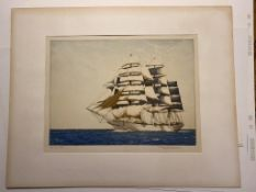 The Wool Clipper Signed By Winston Megoran Artist Proof