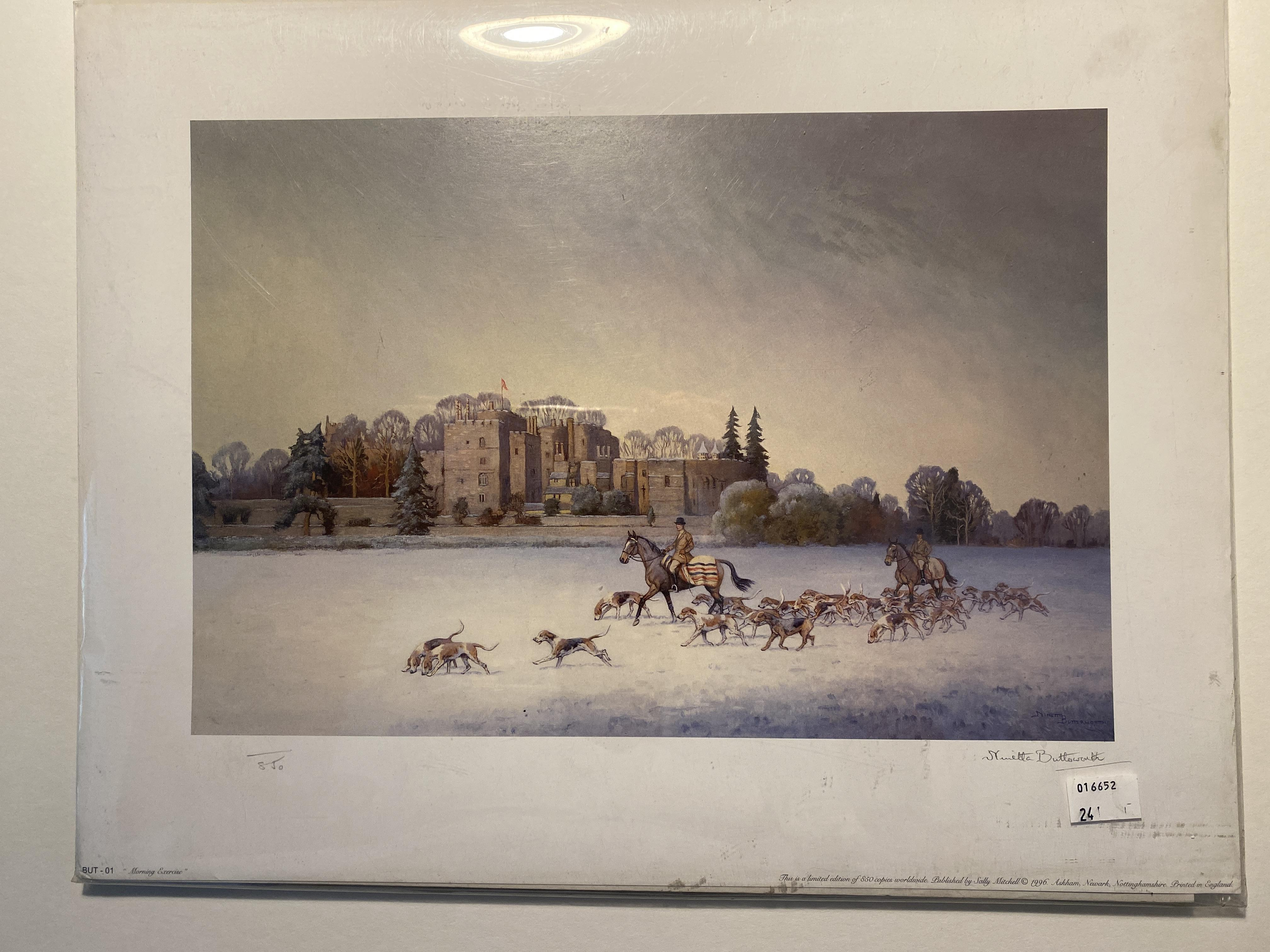 Morning Exercise Limited Edition Print By Ninetta Butterworth