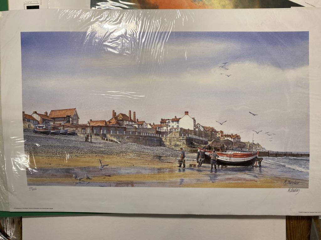 Mick Bensley Signed Limited Edition Print.