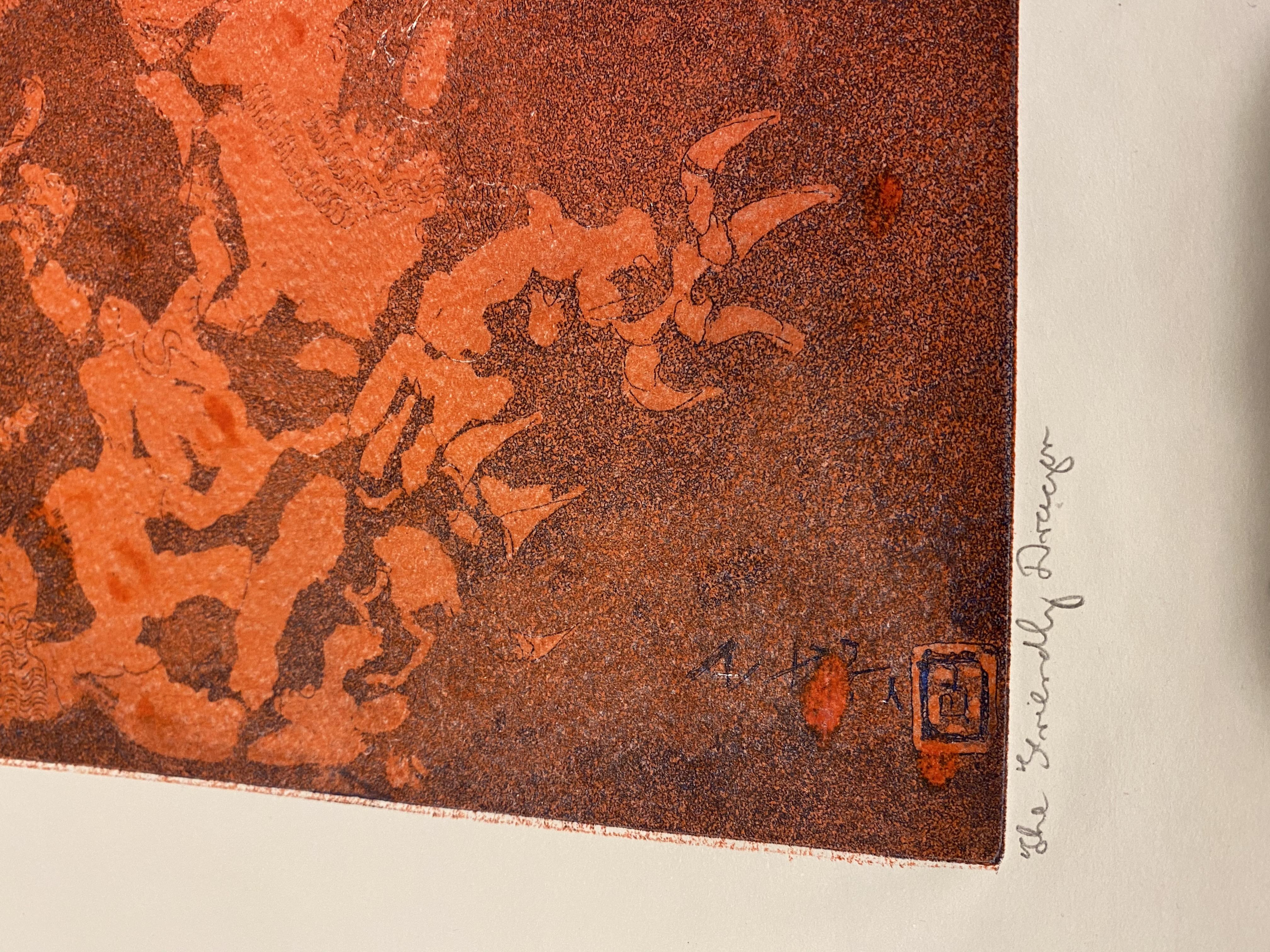 Samuel Robin Spark, The Friendly Dragon Artist Proof Print 91/92 - Image 2 of 3