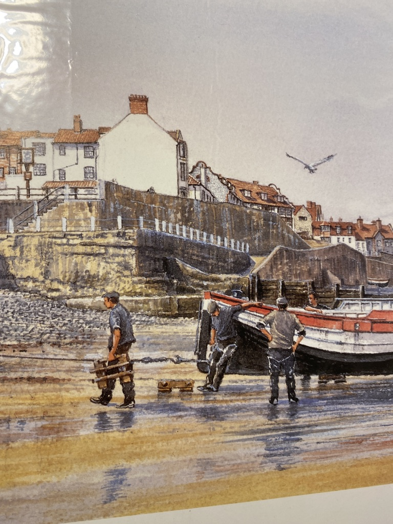 Mick Bensley Signed Limited Edition Print. - Image 5 of 6