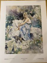 Gordon King Limited Edition Signed Print 'Thoughts & Smiles'