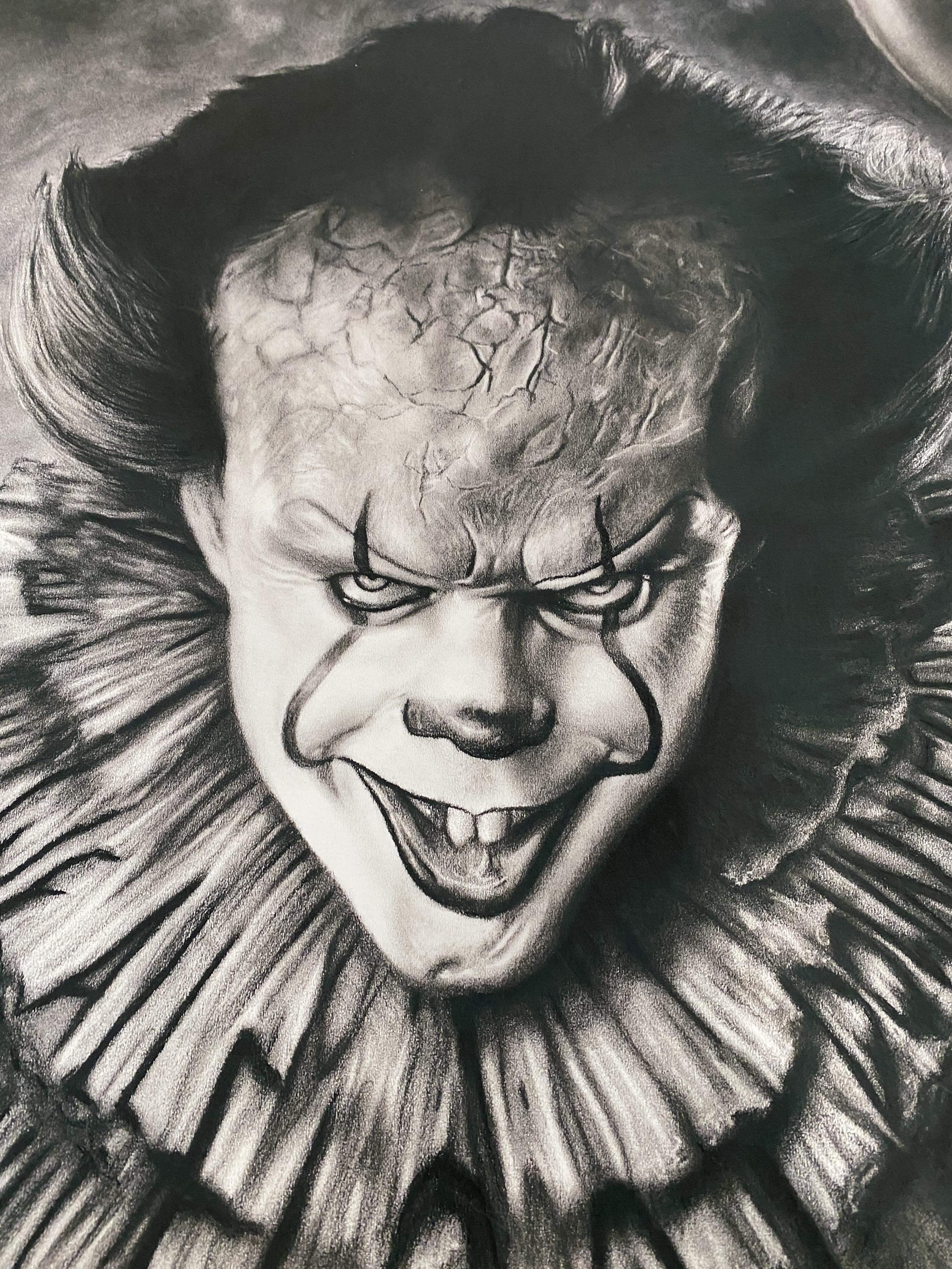 JonArtOn Pennywise Poster IT. Cost £70 - Image 4 of 4
