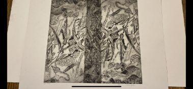 Samuel Robin Spark, Artist Proof `Print 92