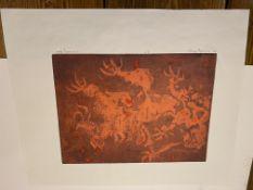 Samuel Robin Spark, The Friendly Dragon Artist Proof Print 91/92