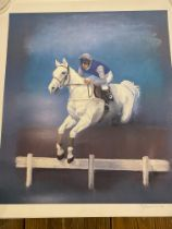 Desert Orchid Limited Edition print by J.F.Beaumont #25/250 1989