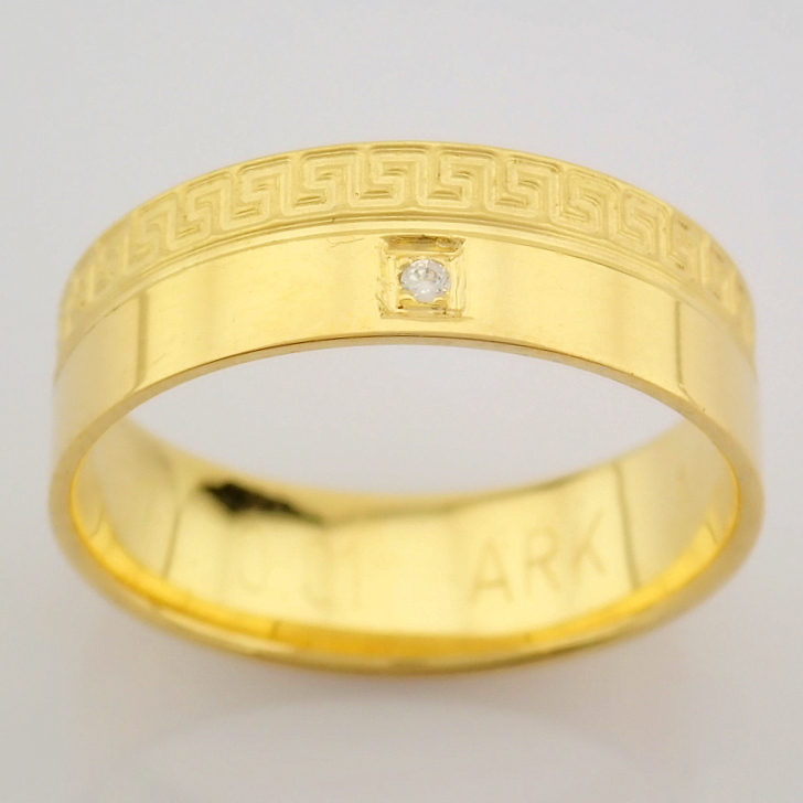 14K Yellow Gold Engagement Ring, For Her - Image 2 of 4