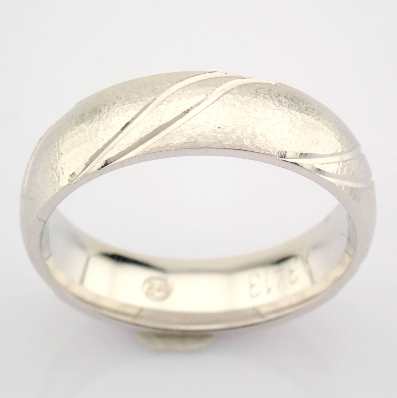 14K White Gold Engagement Ring, For Him - Image 2 of 4
