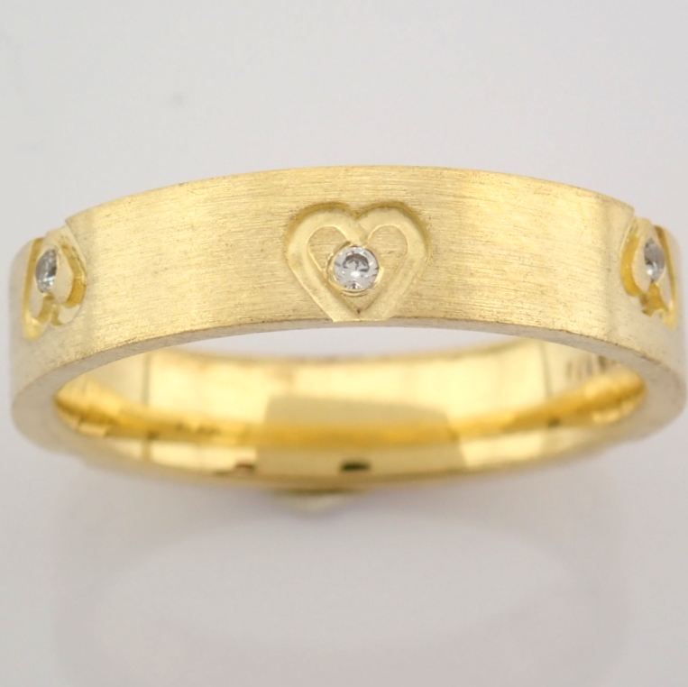14K Yellow Gold Engagement Ring, For Her - Image 3 of 4