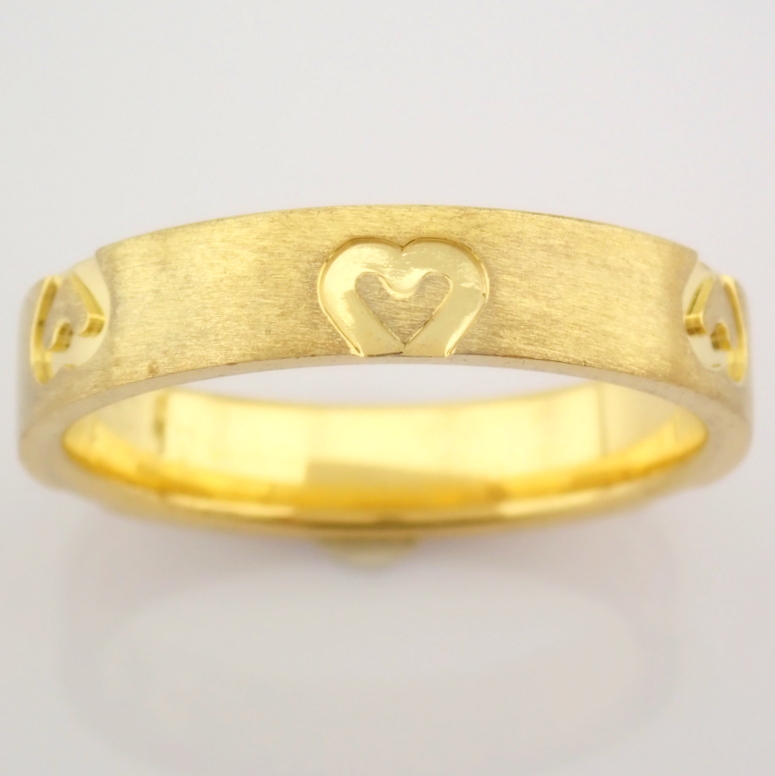 14K Yellow Gold Engagement Ring, For Couple - Image 5 of 6