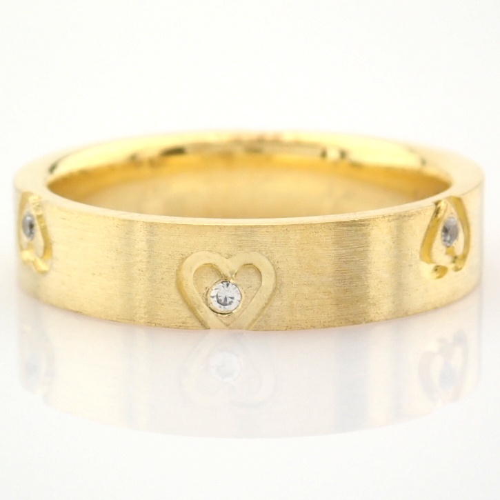 14K Yellow Gold Engagement Ring, For Couple - Image 2 of 6