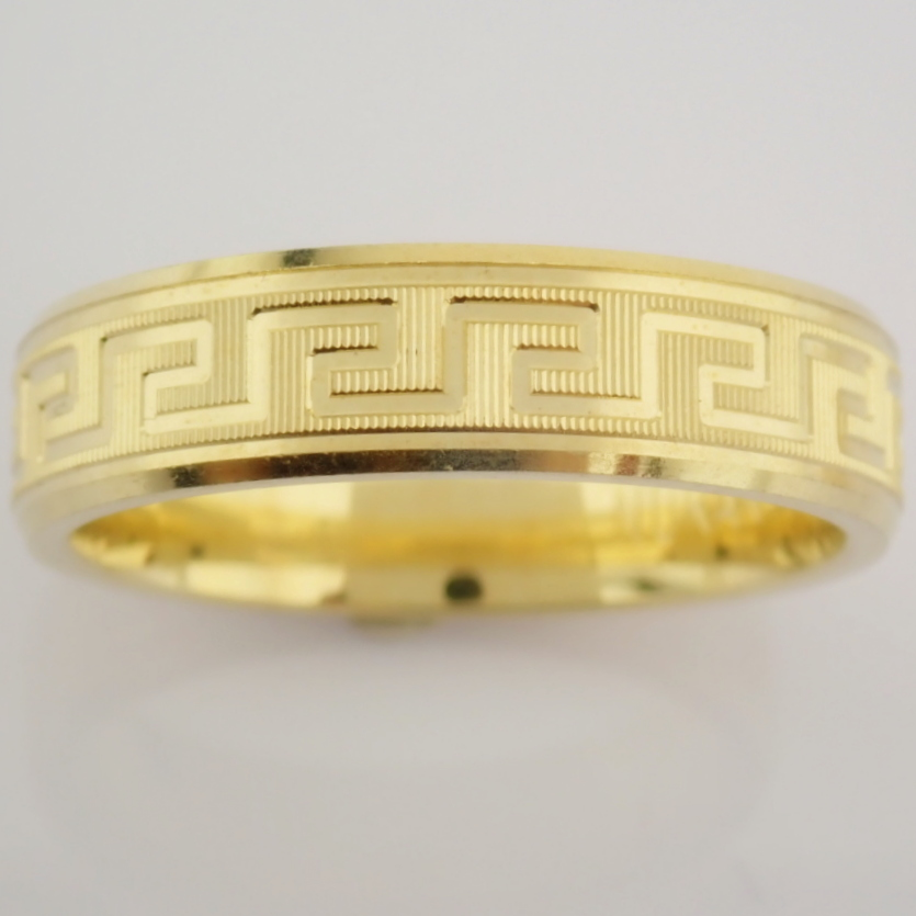 14K Yellow Gold Engagement Ring, For Him - Image 4 of 4