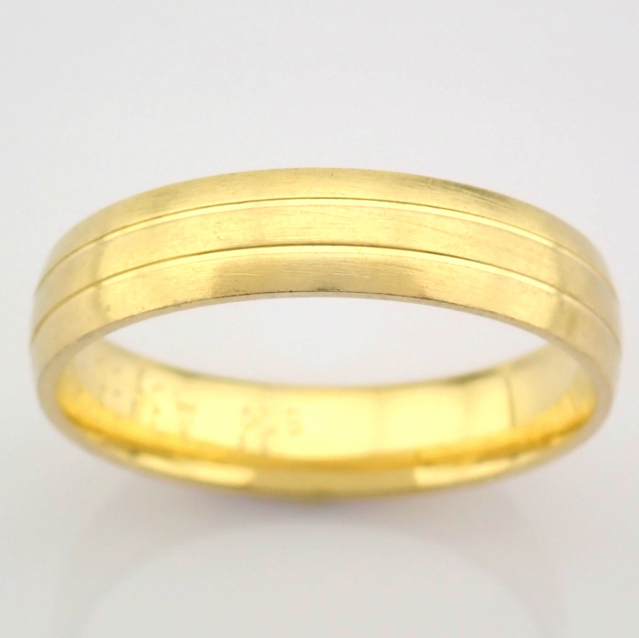 14K Yellow Gold Engagement Ring, For Couple - Image 5 of 5
