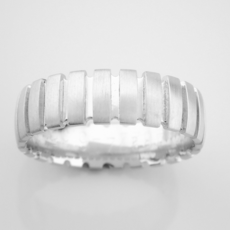 14K White Gold Engagement Ring, For Him - Image 3 of 4
