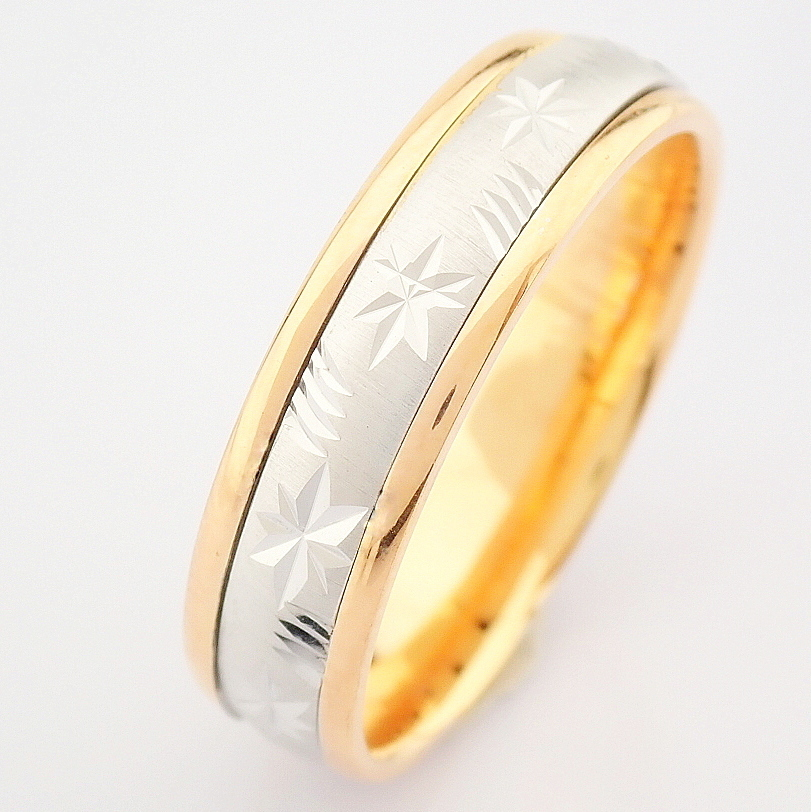 14K Yellow and Rose Gold Engagement Ring, For Him