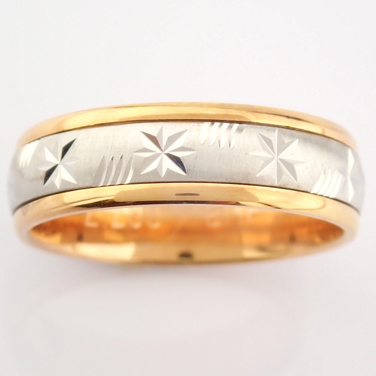 14K White and Rose Gold Engagement Ring, For Couple - Image 4 of 5