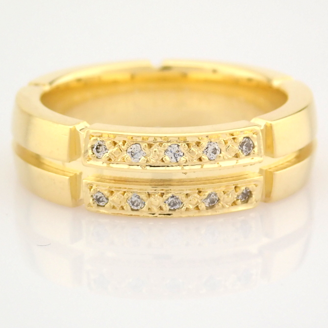14K Yellow Gold Engagement Ring, For Her - Image 5 of 5