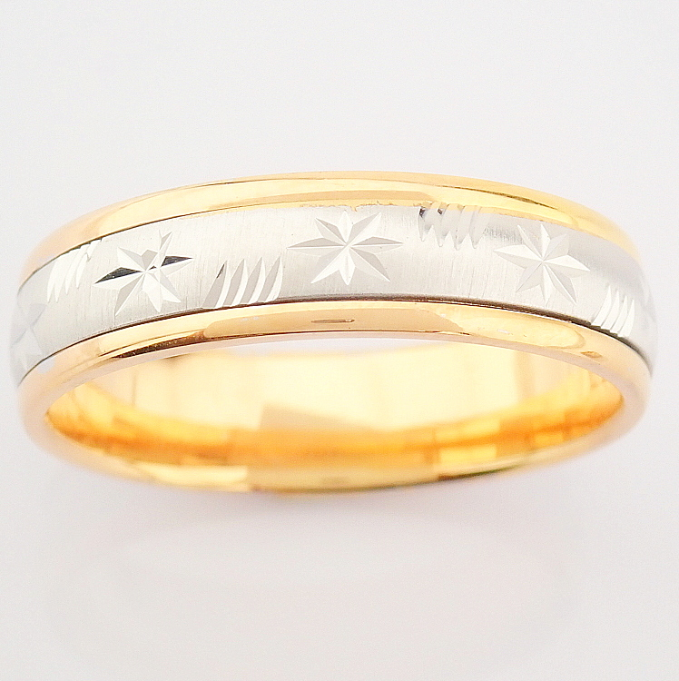 14K White and Rose Gold Engagement Ring, For Couple - Image 5 of 5