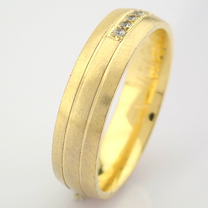14K Yellow Gold Engagement Ring, For Her - Image 4 of 4
