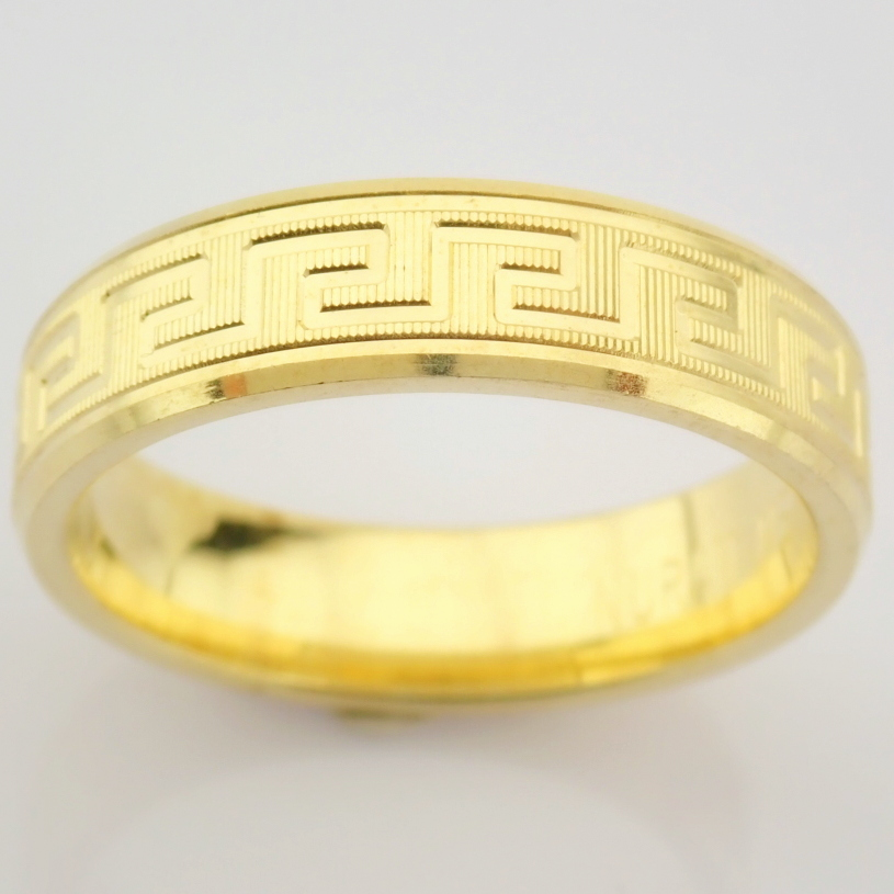 14K Yellow Gold Engagement Ring, For Him - Image 2 of 4