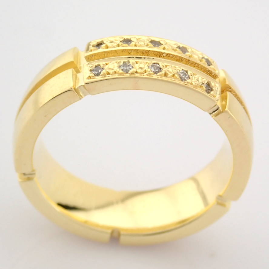 14K Yellow Gold Engagement Ring, For Her - Image 2 of 5