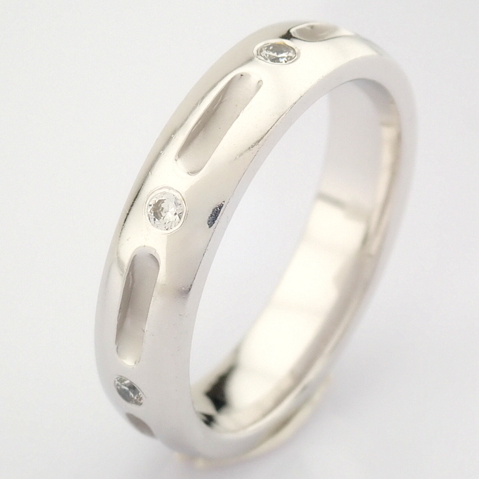 14K White Gold Engagement Ring, For Couple - Image 2 of 5