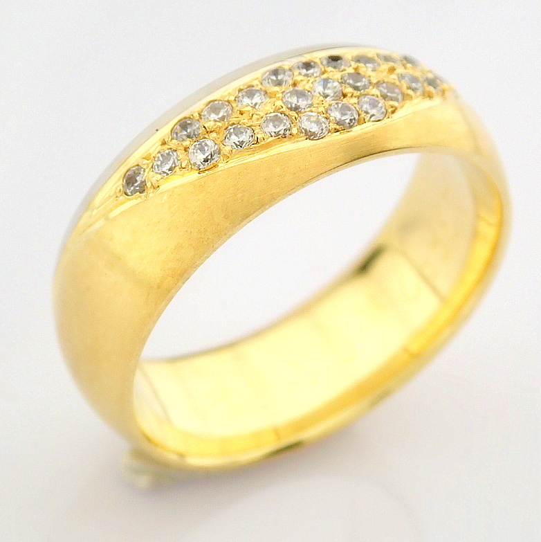 14K Yellow and White Gold Engagement Ring, For Couple - Image 2 of 5
