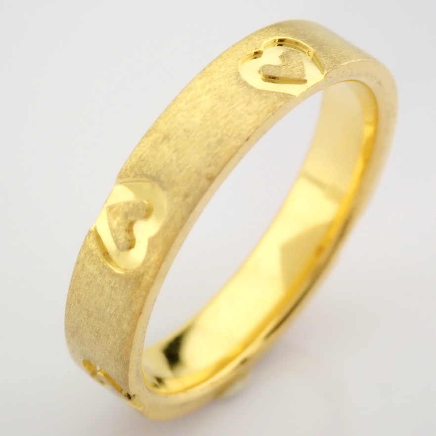 14K Yellow Gold Engagement Ring, For Couple - Image 4 of 6
