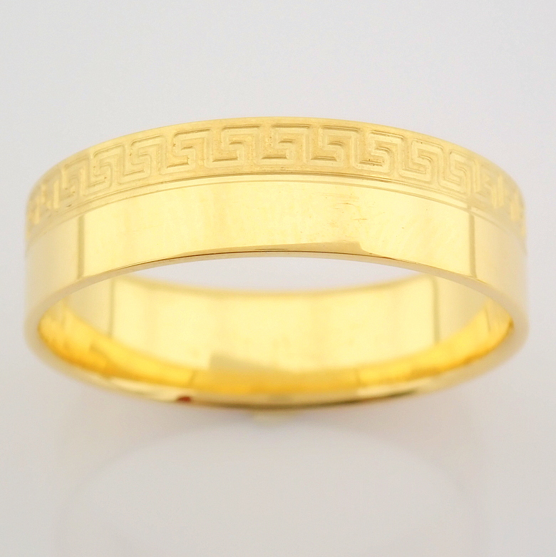 14K Yellow Gold Engagement Ring, For Him - Image 3 of 4