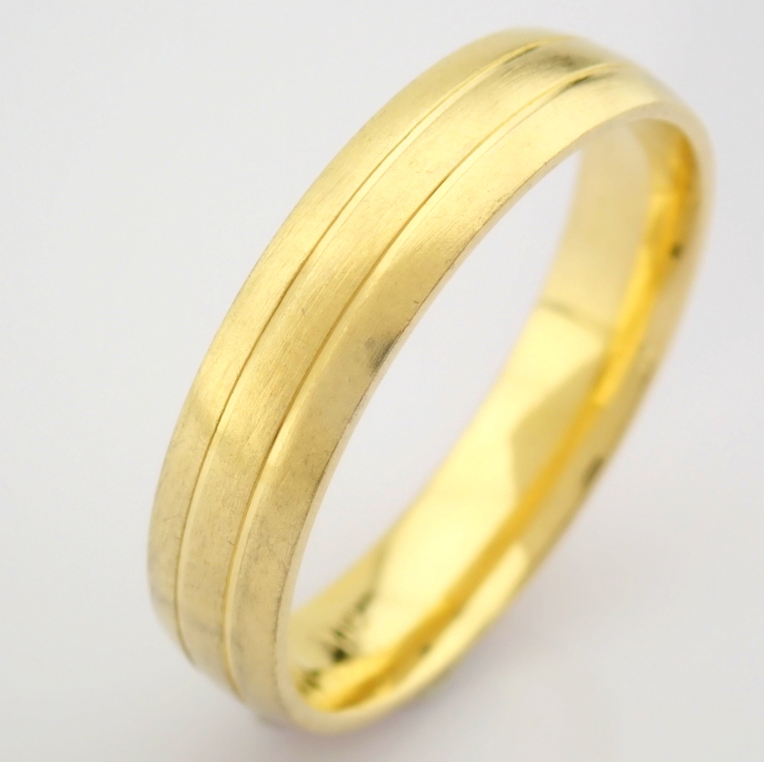 14K Yellow Gold Engagement Ring, For Couple - Image 4 of 5