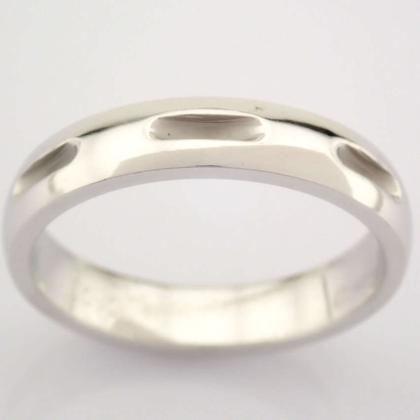 14K White Gold Engagement Ring, For Couple - Image 5 of 5