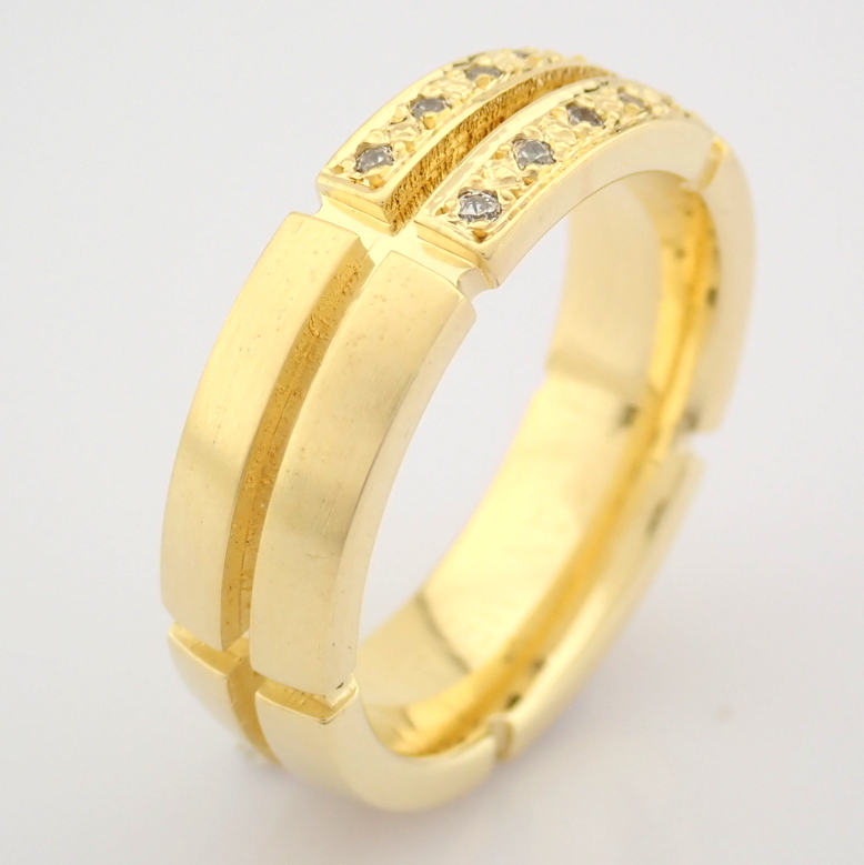 14K Yellow Gold Engagement Ring, For Couple - Image 2 of 5