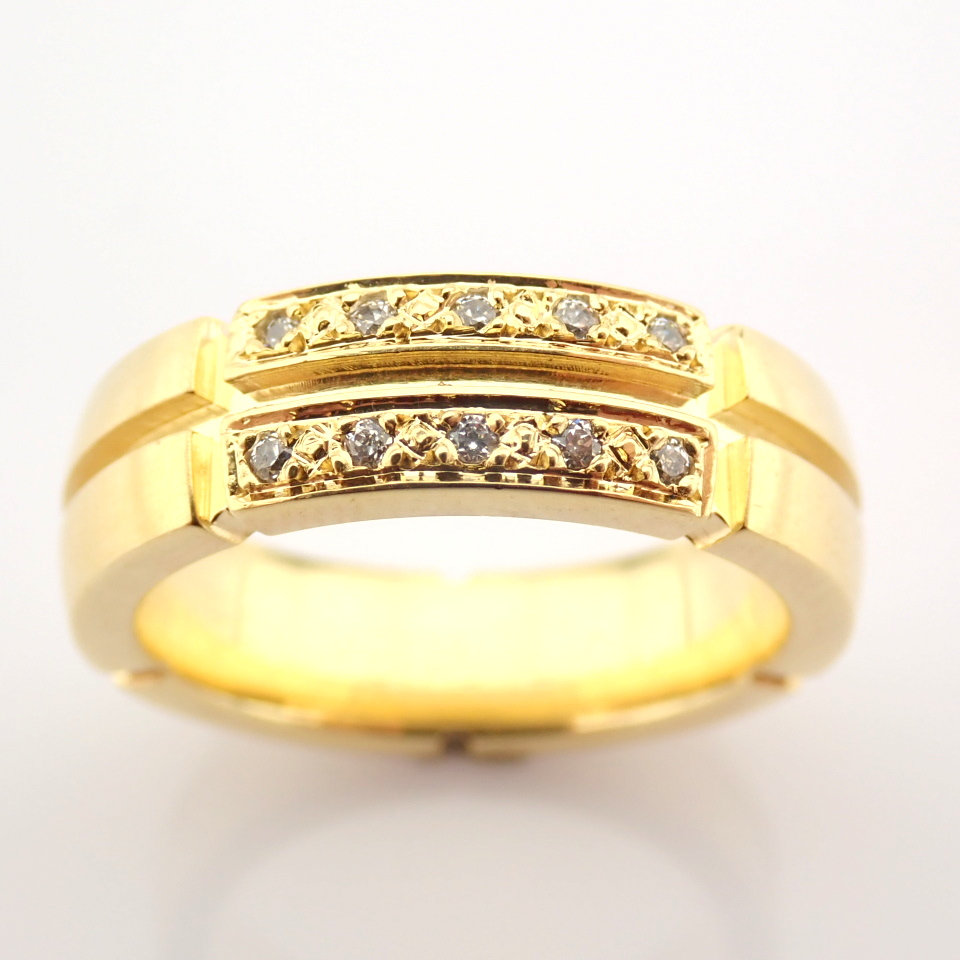 14K Yellow Gold Engagement Ring, For Her - Image 3 of 5