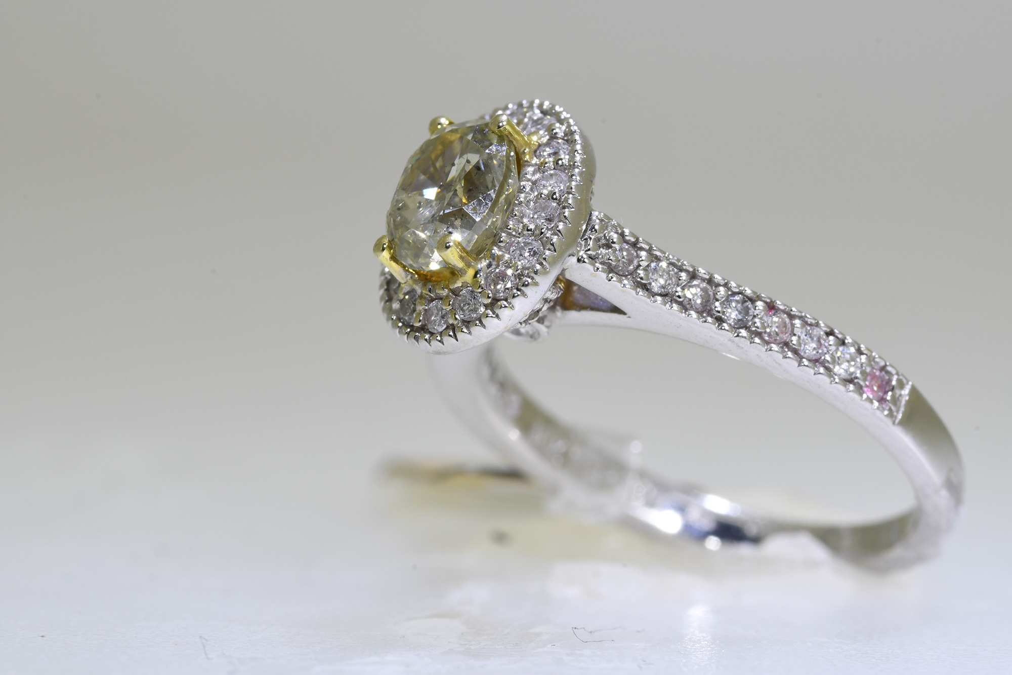 Yellow Diamond Ring - Image 3 of 3