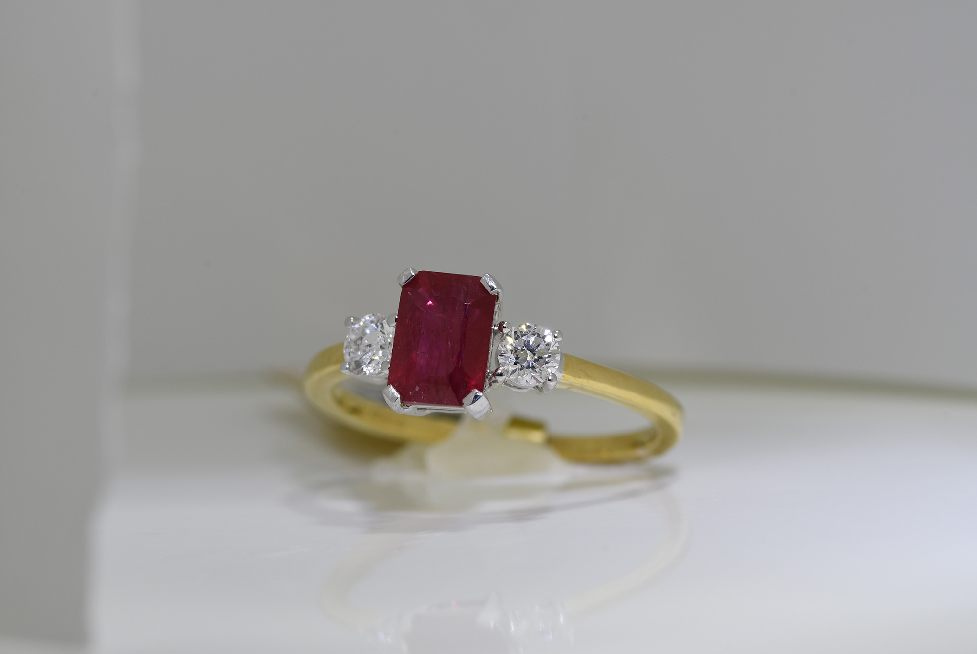 Ruby and Diamond Ring - Image 3 of 3