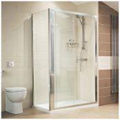 Roman Lumin8 1200mm Sliding Shower Door RRP £420